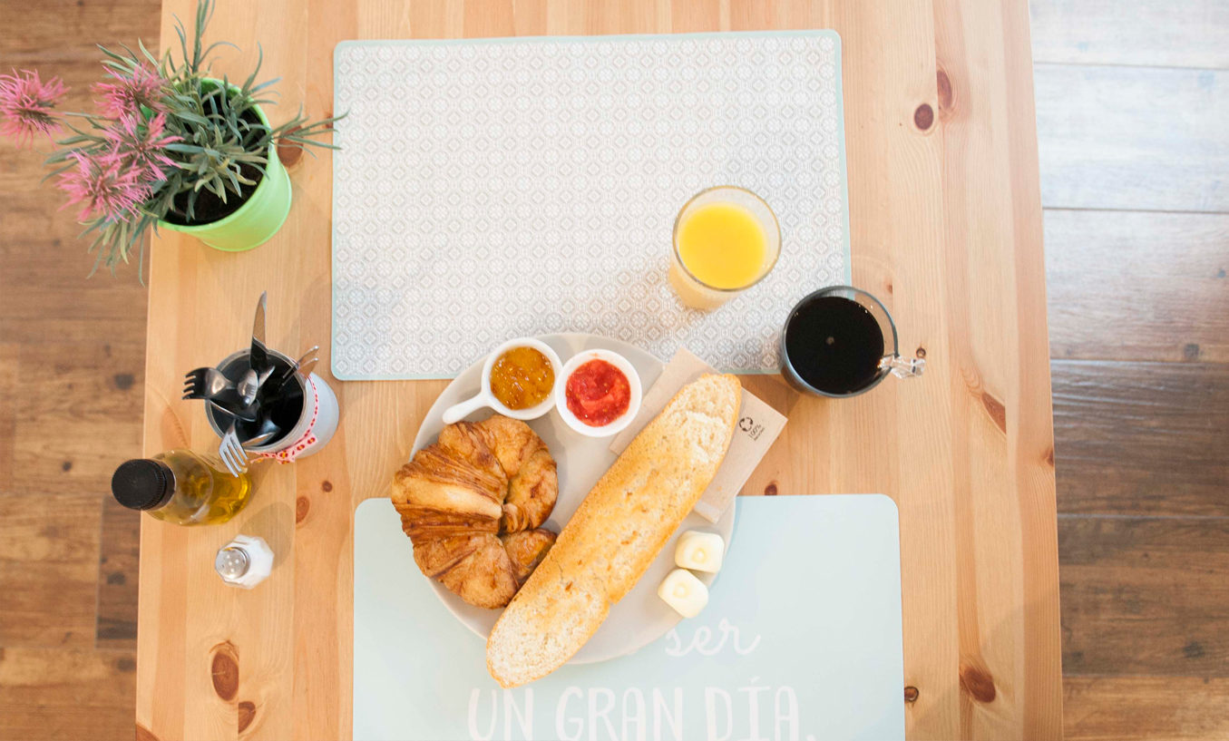 Le petit-déjeuner chez Smile&Co